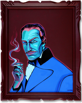 Vincent Price by Christie Shin