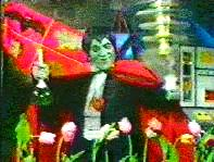 The Count tries to impress the Tulips.