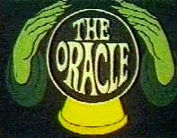 The Oracle's own title card.